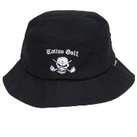 Tattoo Golf Bucket Hat w/ Skull Design【ゴルフ ゴルフウェア>帽子】