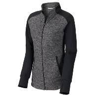 FootJoy Ladies Full-Zip Brushed Back Space Dye Mid Layer【ゴルフ レディース>ジャケット】