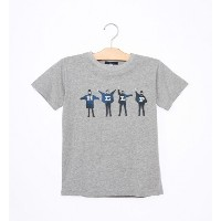 THE BEATLES:プリント TEE(145~160cm)【シップス/SHIPS Tシャツ・カットソー】