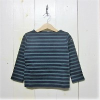 saint james セントジェームス [ouessant][ls][kids][navy/pin]