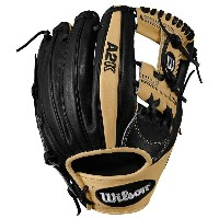 ウィルソン メンズ 野球 グローブ【Wilson A2K 1787 H-Web Fielder's Glove】Blonde/Black【10P03Dec16】