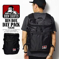 (ベンデイビス)BEN DAVIS公式 BEN BOX DAY PACK -M.BLACK- FREE