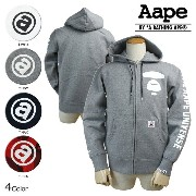 Aape BY A BATHING APE エイプ エーエイプ アベイシングエイプ パーカー ジップアップパーカー 4カラー AAPE UNIVERSE HOODIES...