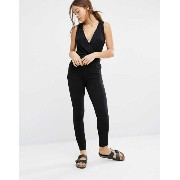 Stitch & Pieces Releaxed Hoodied Jumpsuit