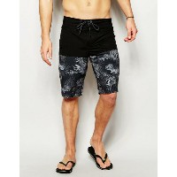 ASOS エイソス Boardie Swim Shorts ショーツ With Cut And Sew Floral Print