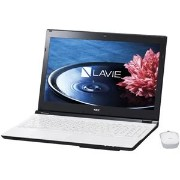 NECパーソナル LAVIE Note Standard - NS550/EAW クリスタルホワイト PC-NS550EAW