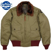 "BUZZ RICKSON'S/バズリクソンズ Jacket, Flying, Intermediate Type B-10""SUPERIOR TOGS Co., INC.""RED RIBLot/BR11134スーペリア・トッグ..."