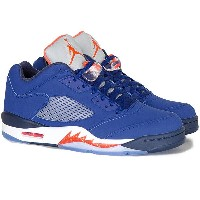 NIKE ナイキ AIR JORDAN 5 RETRO LOW エアジョーダン5 レトロ ロー メンズ スニーカー Deep Royal Blue/Team Orange-Midnight Navy-Atomic...