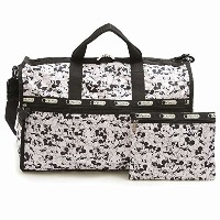 LeSportsac 7185-P928 LARGE WEEKENDER ディズニー ラージウィークエンダー ボストン バッグ MICKEY LOVES MINNIE/ [並行輸入品]