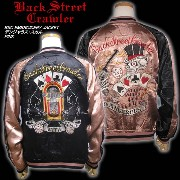 BSC EMBROIDERY JACKET デンジャラス・スカル ピンク