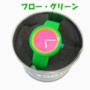 【O clock オ クロック】 BE ON TIME WITH 80'CLOCK カラーシリコンウォッチ made in ITALY【Sサイズ:15cm】 (フロー・グ...