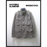 S 【HYSTERIC GLAMOUR x THEATER8 ウッドストックM65ジャケット】0293AB11