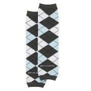 Rugged Butts ブルー アーガイル/レッグウォーマー グレー×ブルーミックス(Blue 'Awesome Argyle' LegWarmers)★ラゲッドバ...