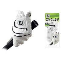 FootJoy Ladies WeatherSof White Gloves【ゴルフ レディース>グローブ】