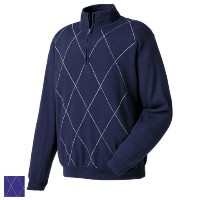 FootJoy Merino Argyle Half Zip Sweaters (Previous Season Apparel【ゴルフ ゴルフウェア>ジャケット】
