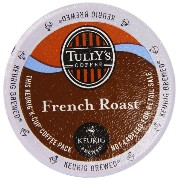 Keurig Tully's(タリーズ)KカップTully's Coffee K-Cup for Keurig Brewers 並行輸入品 (フレンチローストFrench Roast, 50カップ(50Count...