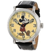 """Disney Mickey Mouse ディズニー ミッキーマウス ビンテージ メンズ腕時計 Men's 56109 """"Vintage"""" Mickey Mouse Watch"""