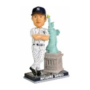 MLB ヤンキース 田中将大 フィギュア 自由の女神像 Forever Collectibles Bobblehead 2014