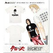 CROWS×WORST 4th 武装戦線 九能龍信 TEE (SS:TEE)(CR-033WH)