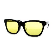 SABRE SUNGLASS(セイバー)サングラスFREAK SCENE・GLOSS BLACK / LIGHT YELLOW