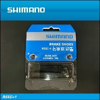 【SHIMANO】シマノ BRAKE SHOE for ROAD ロード用ブレーキシュー R55C+1(BR-7700)プラス1mm厚タイプブレーキシュー&固...