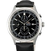 オリエント 時計 腕時計 Orient Monterey Quartz Chronograph with 12-Hour Totalizer and Tachymeter TT0V003B