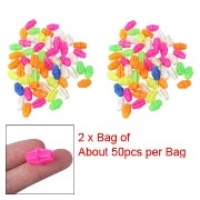 2 Bag Colorful Plastic Clip Spoke Bead Bicycle Decor for Kid Bike