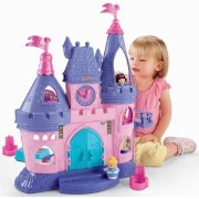 Fisher-Price (フィッシャープライス) Little People Disney (ディズニー) Princess Songs Palace