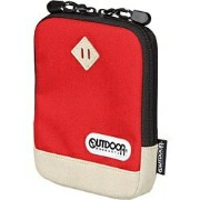 OUTDOOR 電子辞書ケース ODED01RD(レッド)