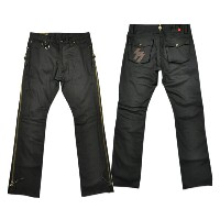 "【SKULL FLIGHT スカルフライト】ボトム/SS PANTS type4 ""STRETCH""(ブーツカット) ★送料・代引き手数料無料!REAL DEAL"