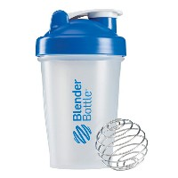 Blender Bottle(ブレンダーボトル) Classic Clear(クラシッククリア) 20オンス(600ml) BBCL20 BL ブルー【S1】