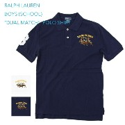 "Ralph Lauren Boy's ""DUAL MATCH"" Mesh POLO Shirts USボーイズ ラルフローレン ポロシャツ"
