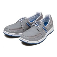 【ROCKPORT】 ロックポート WEEKEND RETREAT 2-EYE BOAT ウィークエンドリトリート 2 アイ ボート A14125 15SP GREY NBK/SDE