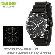 【Traser Watches】トレーサー trigalight 軍事用時計 「TYPE6 MIL-G AUTOMATIC PRO」【10P03Dec16】