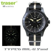 【Traser Watches】トレーサー trigalight 軍事用時計 「TYPE6 MIL-G Sand」【10P03Dec16】
