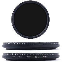 【XCSOURCE】52mm 減光フィルター 可変式NDフィルター (ND2 ND4 ND16 - ND400) LF110