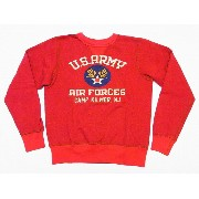 Buzz Rickson's[バズリクソンズ] スウェット U.S. ARMY AIR FORCES BR67121 (RED) 送料無料 代引き手数料無料 【RCP】