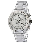 Toy Watch トイウォッチ レディース腕時計 Women's 8008WHP Quartz Chronograph Analog Watch