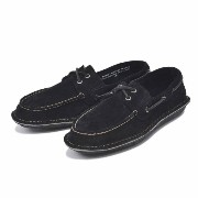 【SPERRY TOPSIDER】 スペリートップサイダー デッキシューズ HUNTINGTON 2-EYE SUEDE ハンティントン 2アイレット スウェ...