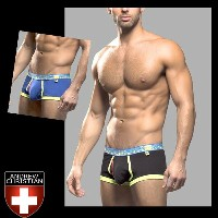 【andrew CHRISTIAN アンドリュークリスチャン】Tighty Whitie Punked Boxer w/ Almost Naked メンズビキニ 下着