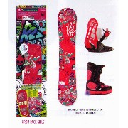 K2 SNOWBOARDING [ GIRLS GROM PACKAGE PACKAGE Bタイプ @45360] キッズ スノーボード 3点セット(ブーツ21〜25cm)安心の正規輸入品