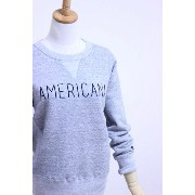"【SALE20%OFF】Americana(アメリカーナ)CREW NECK SWEAT ""AMERICANA"" 3color 2016'S/S【Lady's】"