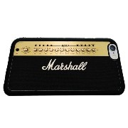 BlackflyCo ブラックフライ マーシャルアンプ Marshall Guitar Amplifier Funny Iphone 6 (4.7 Inch) Rubber Case Black...