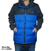 ノースフェイス メンズ ヌプシ ダウン ベスト The North Face Men's Nuptse Down Vest Monster Blue/Tnf Black 02P06Aug16