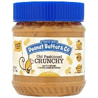 Peanut Butter & Co - Old Fashioned Crunchy - 100% Natural Peanut Butter - 340g