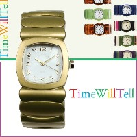 Time Will Tell タイムウィルテル 腕時計 レディース 28mm GOLD COLLECTION