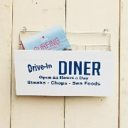 WIRE WALL RACK (DINER)