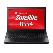 東芝 Dynabook Satellite PB554MFB4R7AA71 Windows7 Pro 32Bit/64Bit Corei3 4GB 500GB DVDスーパーマルチ 無線LAN Bluettoth 10キー付キーボ...