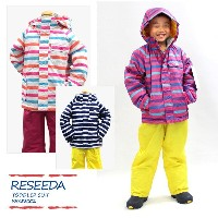 RESEEDA〔レセーダ スキーウェア キッズ〕<2016>TODDLER SUIT RES58002【上下セット】〔z〕