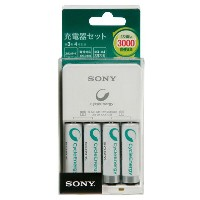 SONY 充電器セット BCG34HH4R [BCG34HH4R]